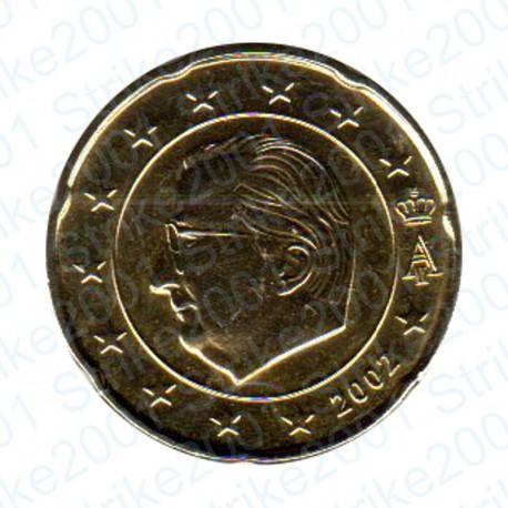 Belgio 2002 - 20 Cent. FDC