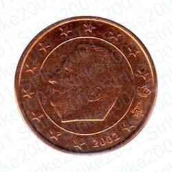 Belgio 2002 - 5 Cent. FDC