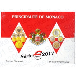 Monaco - Divisionale Ufficiale 2017 FDC