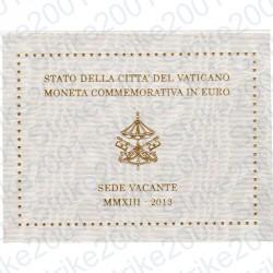 Vaticano - 2€ Comm. 2013 FDC Sede Vacante in Folder