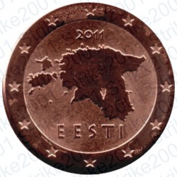 Estonia 2011 - 1 Cent. FDC