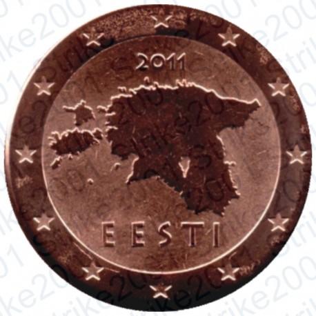 Estonia 2011 - 1 Cent. FDC