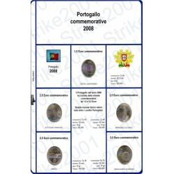 Kit Foglio 2,5 Euro Comm. Portogallo 2008