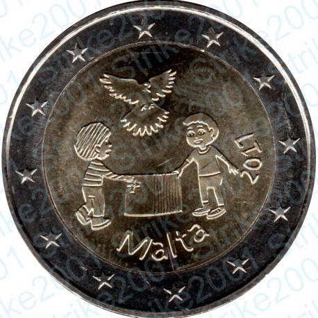 Malta - 2€ Comm. 2017 FDC Pace