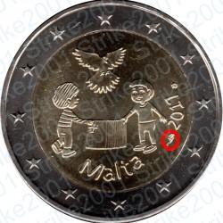 Malta - 2€ Comm. 2017 FDC Pace - Cornucopia