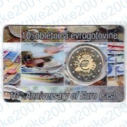 Slovenia - 2€ Comm. 2012 FDC Anniversario in Folder