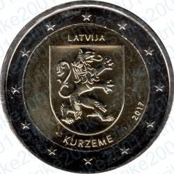 Lettonia - 2€ Comm. 2017 FDC Kurzeme