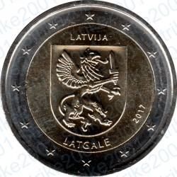 Lettonia - 2€ Comm. 2017 FDC Latgale
