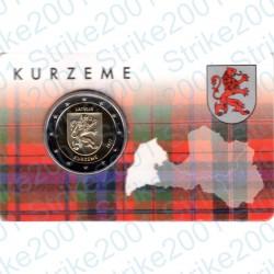 Lettonia - 2€ Comm. 2017 FDC Kurzeme Folder