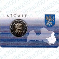Lettonia - 2€ Comm. 2017 FDC Latgale Folder