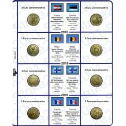 Kit Fogli 2 Euro Comm. 2016