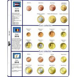 Kit Fogli 18 paesi 2016