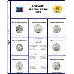 Kit Foglio 2,5 Euro Comm. Portogallo 2016