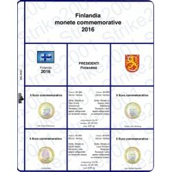 Kit Foglio 5 Euro Bimetallico Finlandia 2016