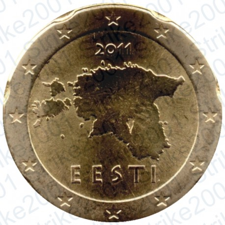 Estonia 2011 - 20 Cent. FDC