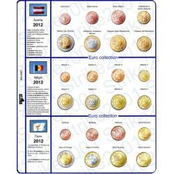 Kit Fogli 17 paesi 2012