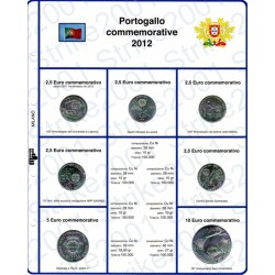 Kit Foglio 2,5 Euro Comm. Portogallo 2012