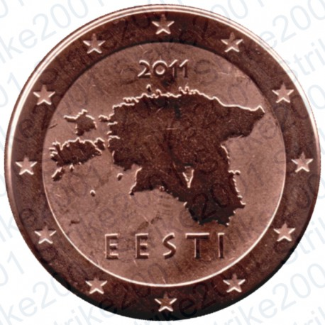 Estonia 2011 - 5 Cent. FDC