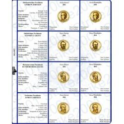 Kit Foglio per Dollari Presidenti 2011