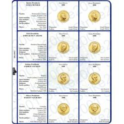 Kit Foglio per Dollari Presidenti 2008