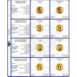 Kit Foglio per Dollari Presidenti 2012
