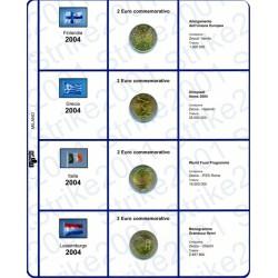 Kit Foglio 2 Euro Comm. 2004