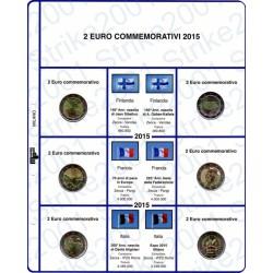 Kit Foglio 2 Euro Comm. 2015