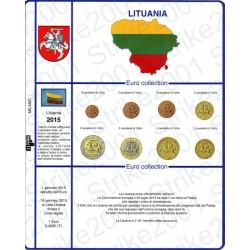 Kit Foglio Lituania 2015