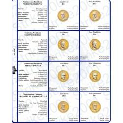 Kit Foglio per Dollari Presidenti 2014