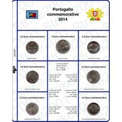 Kit Foglio 2,5 Euro Comm. Portogallo 2014