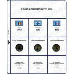 Kit Foglio 2 Euro Comm. 2010
