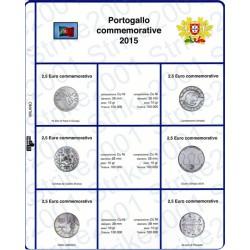 Kit Foglio 2,5 Euro Comm. Portogallo 2015