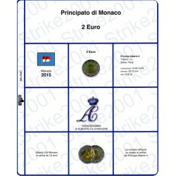 Kit Foglio 2 Euro Monaco 2015