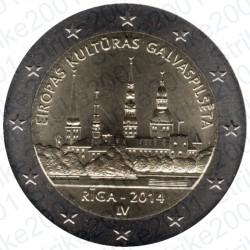Lettonia - 2€ Comm. 2014 FDC Riga