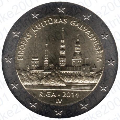 Lettonia - 2€ Commemorativo 2014 FDC