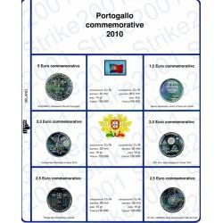 Kit Foglio 2,5 Euro Comm. Portogallo 2010