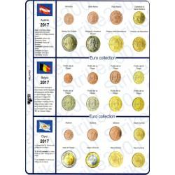 Kit Foglio 18 paesi 2017