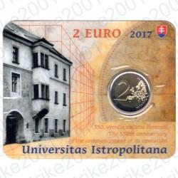 Slovacchia - 2€ Comm. 2017 FDC Accademia in Folder
