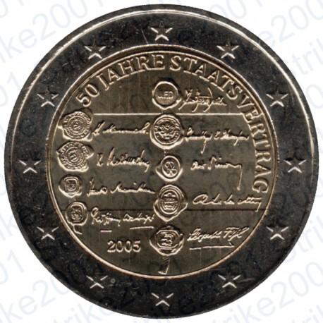 Austria - 2€ Comm. 2005 50° Ann. Austrian State Treaty