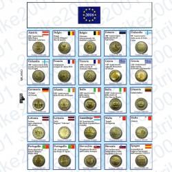 Kit Foglio Aggiornamento 2 Euro Comm. 2016 - Euro Junior