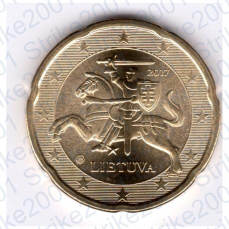 Lituania 2017 - 20 Cent. FDC