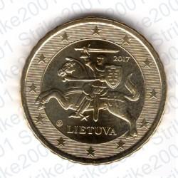 Lituania 2017 - 10 Cent. FDC