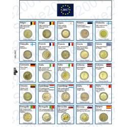 Kit Foglio Aggiornamento 2 Euro Comm. 2017 - Euro Junior