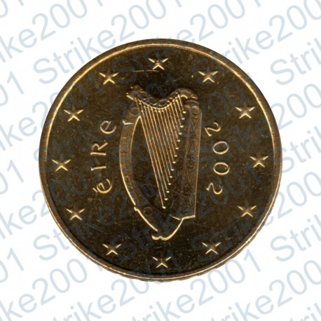Irlanda 2002 - 10 Cent. FDC