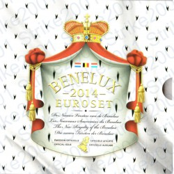 Belgio - Serie BENELUX 2014 FDC