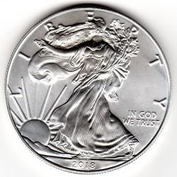 America - 1 Dollaro Argento Liberty Oncia 2018 FDC