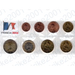 Francia - Blister 2005 FDC