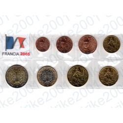 Francia - Blister 2005 FDC