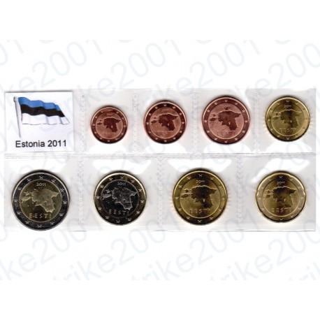 Estonia - Blister 2011 FDC