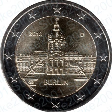 Germania - 2€ Comm. 2018 FDC Castello di Charlottenburg
